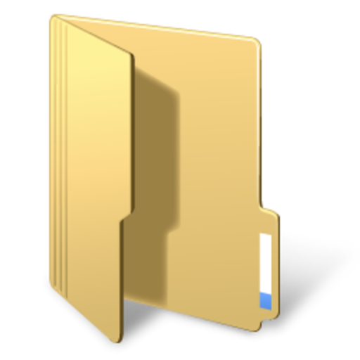 folder yellow folderopened 0